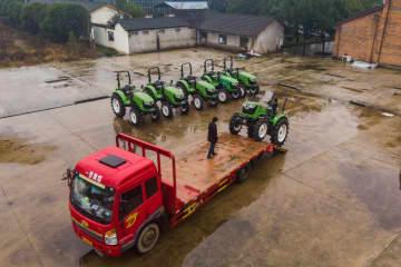 農業機械のシェアリングサービスで農作業をサポート 湖南省常徳市