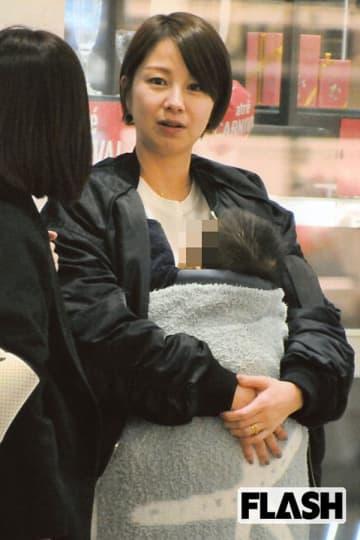 育児に奮闘中の田中美保、モットーは「毎日ちゃんとお化粧」