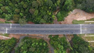 スリランカ南部高速の延伸区間が開通 中国企業が建設竣工