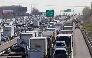 A view of the New Jersey Turnpike. (NJ Advance File Photo/)