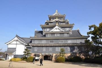 大規模改修が行われる岡山城