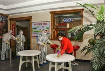 北朝鮮メディアは連日のようにコロナウイルス対策について報じている