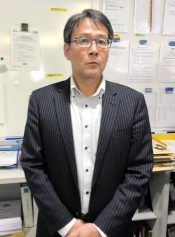 日本サッカー協会の関塚隆技術委員長=都内・JFAハウス