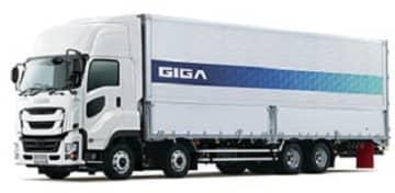 いすゞ/ギガがレベル2相当の自動運転に対応