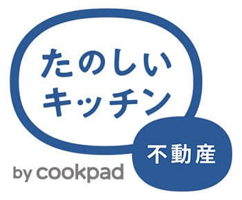 「たのしいキッチン不動産」のロゴ