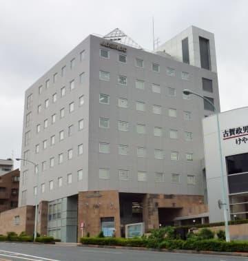 日本音楽著作権協会が入るビル=2015年11月、東京都渋谷区