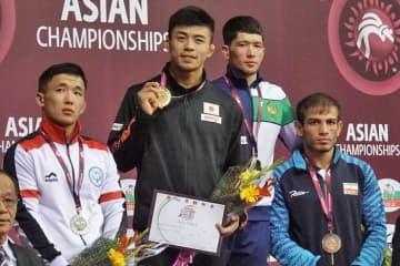 第1シードで東京オリンピックへ臨むことが確実となった文田健一郎(ミキハウス)