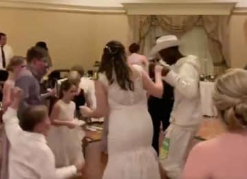 Lil Nas X Crashes Strangers' Wedding, Dances To