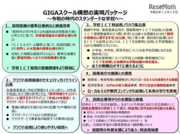 GIGAスクール構想の実現パッケージ