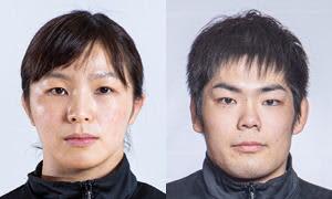 川井友香子(左)と藤井達哉