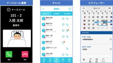 日病モバイルの画面イメージ
