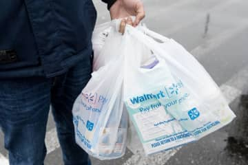 The state Senate voted Thursday to ban single-use plastic and paper bags across New Jersey. (Reena Rose Sibayan   The Jersey Journal) (Reena Rose Sibayan   The Jersey Journal/)