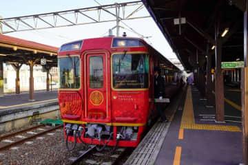 琴平駅にて