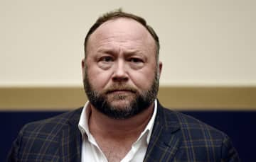 Infowars founder Alex Jones attends a hearing before the House Judiciary committee on Capitol Hill on Dec. 11, 2018, in Washington, D.C. - Olivier Douliery/Abaca Press/TNS