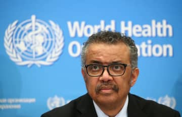 Director-General of the WHO Tedros Adhanom Ghebreyesus, attends a news conference on the coronavirus (COVID-2019) in Geneva, Switzerland, in this February 24, 2020 file photo. [Photo/Agencies]