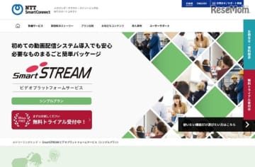 SmartSTREAMビデオプラットフォームサービス シンプルプラン