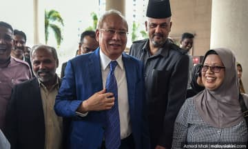 Hujahan bertulis kes SRC Najib dijadual semula ke 28 April