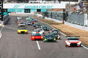 スーパー耐久2019年開幕戦スタートシーン