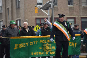 A scene from the 2019 Jersey City St. Patrick's Day Parade. This year's parade has been canceled because of the coronavirus. (Journal file photo) (Corey McDonald/)