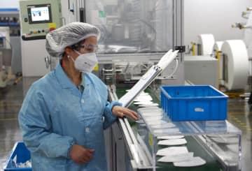 中国3M、マスク工場は24時間フル稼働 上海市
