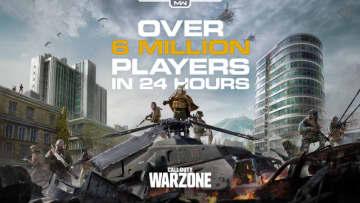 『コール オブ デューティ ウォーゾーン』配信から24時間でプレイヤー数が600万人を超える