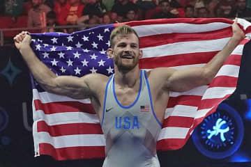 オリンピック出場枠獲得を目指す2018年世界王者デービッド・テーラー(米国)