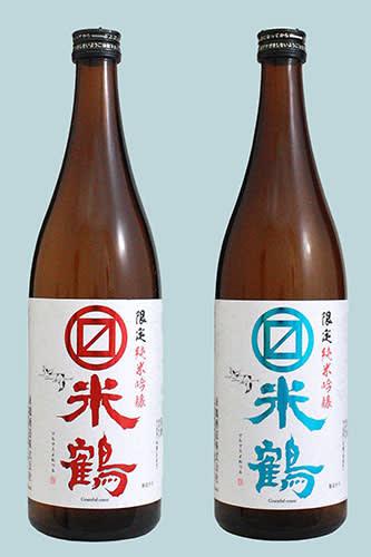 米鶴酒造の「マルマス米鶴 限定純米吟醸」