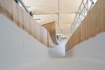 北京の国家スピードスケート競技場、製氷作業完了