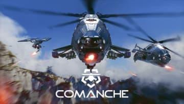 激しい空中戦が展開する戦闘ヘリシューター『Comanche』Steam早期アクセス開始!