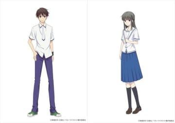 「フルーツバスケット」2nd season、生徒会メンバーのキャラビジュ公開! 江口拓也と加隈亜衣からコメントも