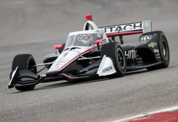 エアロスクリーン初年度の2020年インディカー・シリーズは、3~4月のレース開催がなくなることに(写真は今年2月の合同テスト時)。
