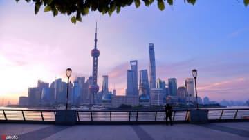 Shanghai's city view. [Photo/IC]