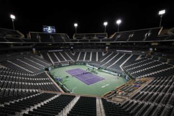 写真は2020年「ATP1000インディアンウエルズ」会場