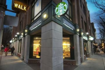 Starbucks' chief executive officer said in-store seating may be limited to 'improve social distancing' and that stores will close only as a last resort. (Michael Mancuso | NJ Advance Media for NJ.com) (Michael Mancuso/)