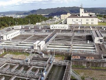 コンセッション事業の対象になる南部山浄水場(宮城県白石市)