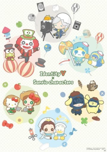 「Identity V」×「サンリオキャラクターズ」のコラボPVが公開!オンラインでのグッズ販売も実施