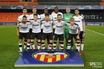 バレンシアの選手やコーチがコロナに感染