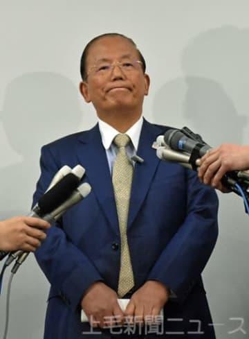 3県での聖火リレーの感染対策を説明する武藤氏