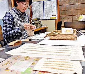 「マスク」手作りで増産!一人でも多くの人に 川俣・斎藤産業