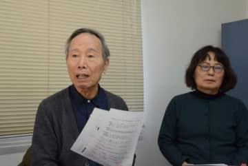佐野章二共同代表(左)と水越洋子編集長(2020年3月18日/弁護士ドットコム撮影/東京都内)