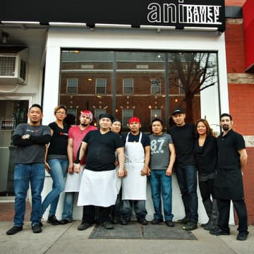 Ani Ramen House will be sharing free family meal kits from noon to 6 p.m. at all three of its New Jersey locations in Montclair, Maplewood, and Jersey City beginning March 19. (Courtesy of Ani Ramen/)