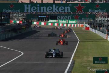 2019年、F1日本GP