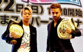 武尊の相手ブアフフ(右)は来日できず、タイトル戦消滅し強豪タイ人が代打となった。