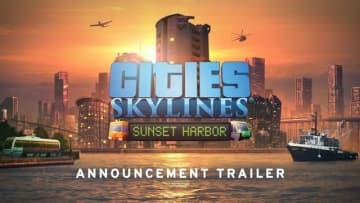 5周年の高評価都市構築シム『シティーズ:スカイライン』水産業や新たな輸送網、マップ追加の新DLC「Sunset Harbor」発表トレイラー公開