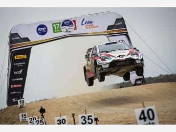 セバスチャン・オジエ/ジュリアン・イングラシア組(ヤリスWRC17号車)が今シーズン初優勝を果たし、ドライバー選手権の首位に立った