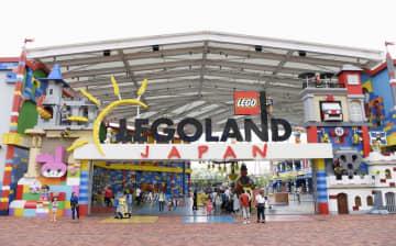 名古屋市港区のテーマパーク「レゴランド・ジャパン」=2019年7月