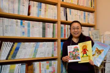 電子書籍約500冊を無料配信している「銀の鈴社」の西野社長=鎌倉市佐助