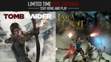 リブート版『トゥームレイダー』、『ララ・クロフト アンド テンプル オブ オシリス』Steam版がそれぞれ3月24日16時まで無料配布!