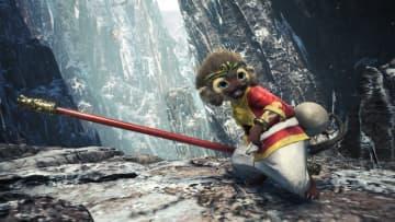 """『モンハン:アイスボーン』「激昂したラージャン」&「猛り爆ぜるブラキディオス」からの新装備を公開!""""お猿さん""""なオトモがとってもキュート"""