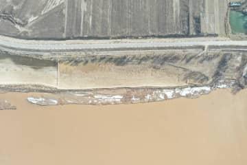 黄河の解氷期が終了 内モンゴル自治区